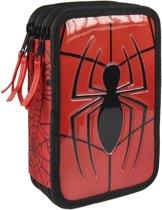 Marvel Etui Premium Spider-man 19,5 Cm 44-delig Rood