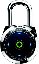 MasterLock Elektronisch hangslot eONE -  Antikraaktechnologie - Incl. batterij -1500EEURDBLK