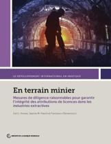 En terrain minier