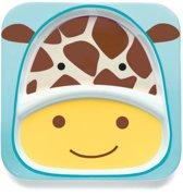 Skip Hop - Zoo verdeeld bord Giraffe - Geel