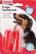 Beaphar Vingertandenborstel - Hond - Gebitsverzorging - 2 x 2 tandenborstels