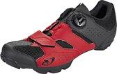 Giro Cylinder schoenen Heren rood/zwart Schoenmaat 42