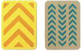 "Sizzix Thinlits 4 pcs 3"" & 4"" Cards #2 by Lori Whitlock"