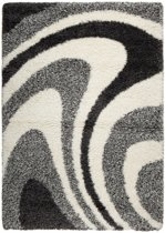 Vloerkleed Shaggy Plus 7110 Grey 160x230 cm
