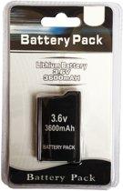 Batterij accu voor PSP2000 & PSP3000 3600mAh