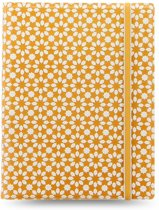 Filofax Refillable Impressions A5 Notebook Yellow & White