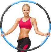 Weight Hoop Original - Fitness hoelahoep - 1.2 kg - Ø 100 cm - Blauw/Zwart