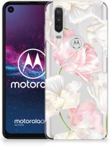 Motorola One Action TPU Case Lovely Flowers