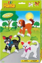 Hama Strijkkralen Cats & Dogs 2000