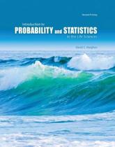 Introduction to Probability and Statistics in the Life Sciences