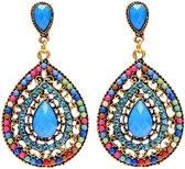 24/7 Jewelry Collection Oorbellen - Oorhangers - Vintage - Bohemian Style