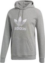 adidas Originals Trefoil Hoodie Heren - Medium Grey Heather - Maat L