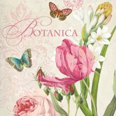 Vintage Papier Servetten - Botanica - Decoupage - 20 stuks