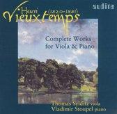 Vieuxtemps: Complete Works For Viol