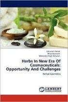 Herbs in New Era of Cosmaceuticals