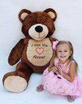 Mega grote teddybeer - 155 cm groot