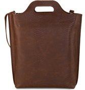 MYOMY My Carry Bag Shopper Medium Anaconda Brandy Shopper MOM80783048 (Inhoud: 4L)