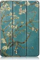 Shop4 - Huawei MediaPad T5 10 Hoes - Smart Book Case Bloesem