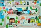 Vloerkleed kinderkamer - Party Collection - Onze stad