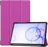 Samsung Galaxy Tab S6 Hoesje - Smart Book Case - Paars
