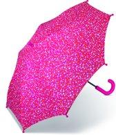 Esprit Kinder Paraplu - Lang - Little Hearts - Roze