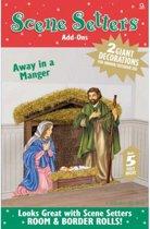 Scenesetter kribbe Jozef en Maria