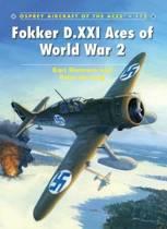 Fokker D.XXI Aces of World War 2