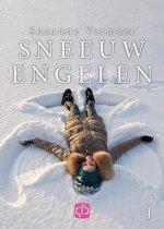 Boekomslag van 'Sneeuwengelen - grote letter uitgave'