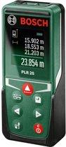 Bosch PLR 25 Afstandsmeter - Tot 25 meter bereik