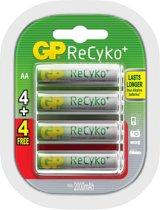 GP Batteries GP ReCyko+ 2100 Series 2000mAh AA Rechargeable battery