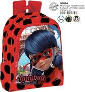 Miraculous Ladybug rugzak 3D / 43 cm / Goede degelijke kwaliteit!