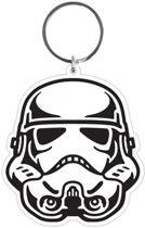 STAR WARS - Rubber Sleutelhanger - Stormtrooper 6 Cm