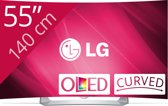 LG 55EG910V - 3D Oled-tv - curved - 55 inch - Full HD - Smart tv