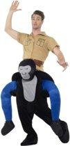 Gedragen door kostuum - Carry me kostuum boze gorilla