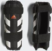 adidas Fieldplayer  ScheenbeschermerVolwassenen - zwart/wit/rood