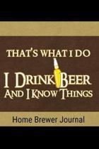 Home Brewer Journal