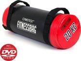 Gymstick Fitnessbag - 20 kg - Met Trainingsvideo's - Rood