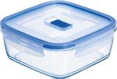 Luminarc Pure Box Active Vershouddoos - Vierkant - Glas - 0,76L