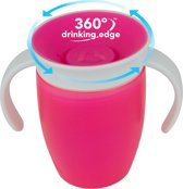 Miracle 360 trainer cup/oefenbeker roze