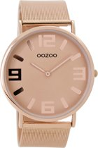OOZOO Vintage Rosegoud horloge  (42 mm) - Goudkleurig