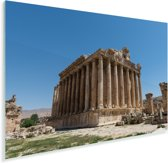 De best bewaarde Romeinse tempel ter wereld in Baalbek Plexiglas 120x80 cm - Foto print op Glas (Plexiglas wanddecoratie)