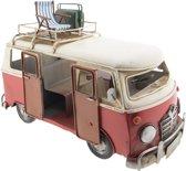 Model bus 28*13*18 cm Rood | GWAU2 | Clayre & Eef