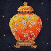 Diamond Dotz Red Vase (52x52 cm) - Diamond Painting
