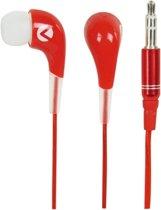 König Oozy Ear Fusion Koptelefoon - Rood