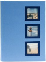 GOLDBUCH GOL-17387-B insteekalbum VIEW voor 300 foto's - Blauw
