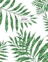 Dot Grid Journal - Tropical Greenery Minimalist Design