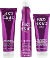 Tigi Bed Head For Women Size Matters Gift Set 250ml Shampoo + 200ml Conditioner + 311ml Thickening Spray