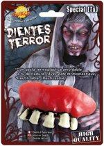 Horror zombie gebit/neptanden - Halloween verkleed accessoire voor volwassenen