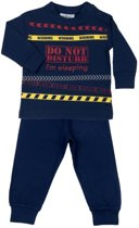 Fun2Wear Do not Distrub Pyjama Blauw maat 92