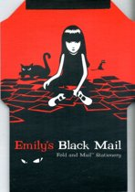 Emily Black Mail & Fold Stationery